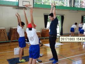 足立区立東栗原小学校「子供のスポーツ障害と予防策」